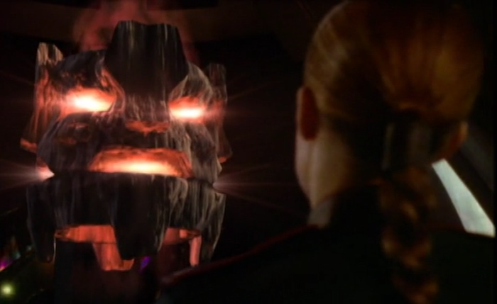 Ivanova faces the avatar of the Walkers at Sigma 957.